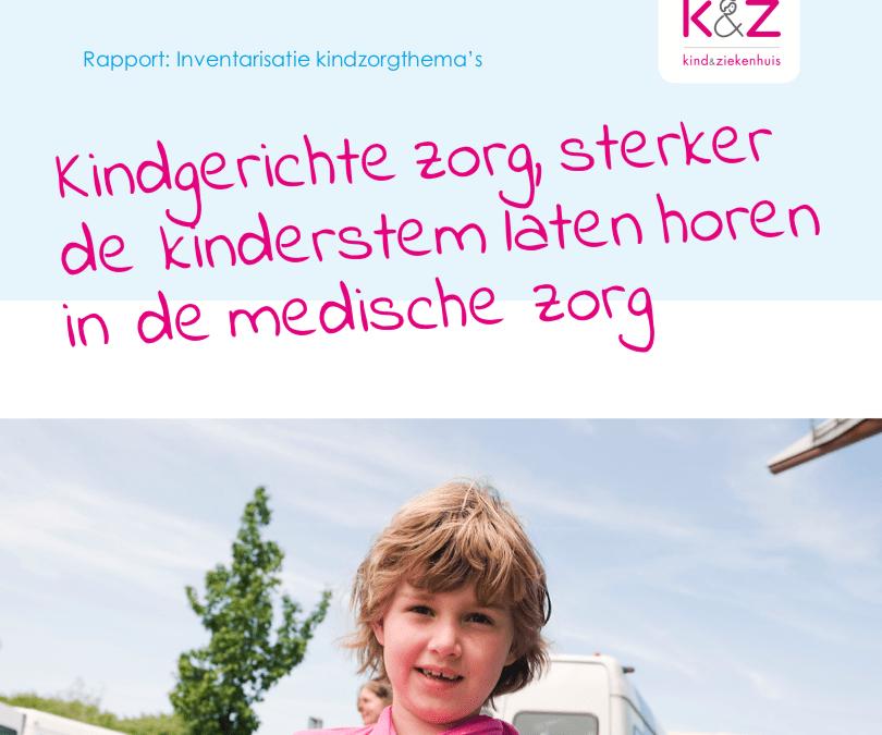 Rapport Inventarisatie Kindzorgthema's
